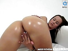 15 movies - Super BABE Hot Masturbation on Casting Couch