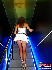 12 pictures - Girls follow me to show upskirts in voyeur upskirt free photo gallery from UpskirtCollection.com